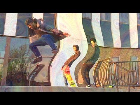 Skateboarding… On Psilocybin Mushrooms!