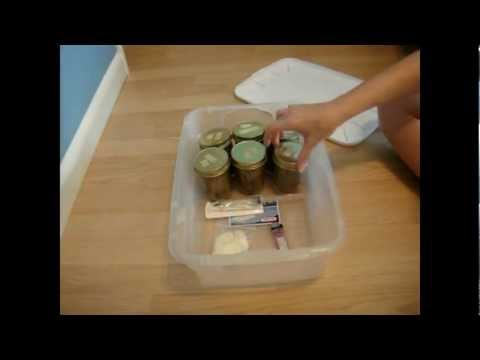 Cali Grow Kits – Hippie Gardener  ~ Mush Kit ~  Part 1 (inoculation)
