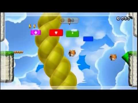 New Super Mario Bros. U – Boost Mode Challenges (Co-op) Gold Medals