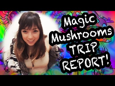 My Experience Tripping on MAGIC MUSHROOMS!