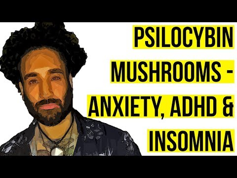 Magic Mushrooms – Anxiety, ADHD & Insomnia