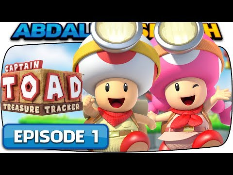 Captain Toad: Treasure Tracker [Nintendo Switch] – 100% Walkthrough Episode 1 – Part 1!  🔴LIVE!