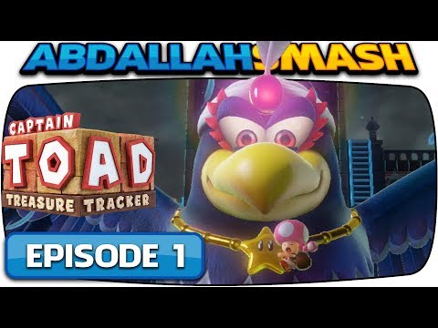 Captain Toad: Treasure Tracker [Nintendo Switch] – 100% Walkthrough Episode 1 – Part 2!  🔴LIVE!