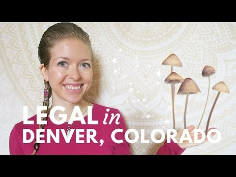 Magic Mushrooms Could Be LEGAL IN DENVER Colorado THIS WEEK