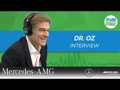 Dr. Oz Tells Us the Truth About Magic Mushrooms | Elvis Duran Show