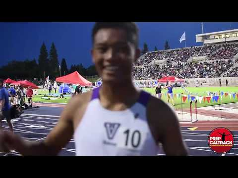 Valencia's Kai Wingo wins California state 800m title at 2019 CIF-State Championships!