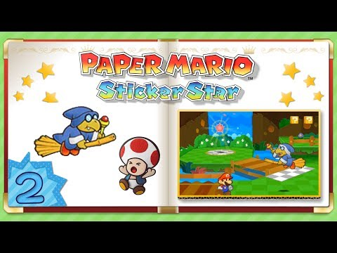 Let's Play FR HD Facecam Paper Mario: Sticker Star – Kamek le Hipster